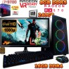 PC GAMER CORE I7-9700+RADEON RX-570 8GB DDR5 MONITOR FULL HD