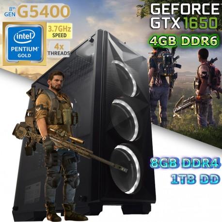 CPU GAMER INTEL NVIDIA GTX-1650 SUPER 4GB DDR6