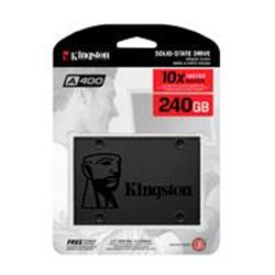 UNIDAD DE ESTADO SOLIDO SSD KINGSTON A400 240GB 2.5 SATA3 7MM LECT.500/ESCR.350MBS