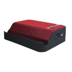BOCINA HIGHLINK HANDLE BLUETOOTH 4.2 LECTOR MEMORIAS USB Y MICRO SD BAT 800mAh COLOR ROJO AUX 3.5mm FM