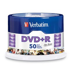 TORRE 50 DVD+R VERBATIM 4.7GB 16X SPINDLE