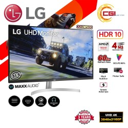 "Monitor gaming LG 32UN500 31.5"" 4K UHD Blanco, Plata 3840 x 2160 FreeSync"