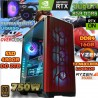 ★PC GAMER RYZEN 5 3600X NVIDIA RTX 3060TI 8GB DDR6 16GB DDR4 SSD 2TB