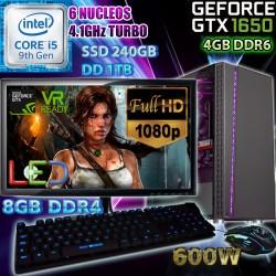 PC GAMER CORE I5-9400 NVIDIA GTX-1650 SUPER 4GB