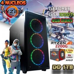 CPU GAMER AMD RYZEN 3 3200G NVIDIA GTX 1050TI 4GB