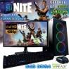 PC GAMER CORE I3-9100F TURBO 4GHZ NVIDIA GTX-1050TI 4GB