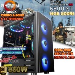 PC RYZEN 9 3900X RX-6900 XT 16GB G-DDR6 32GB DDR4