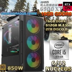 PC GAMER CORE I5-10400 RADEON RX 9600 XT 16GB GDDR6