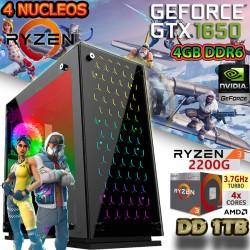 CPU GAMER AMD RYZEN 3 3200G NVIDIA GTX 1650 BARATA
