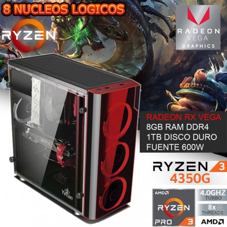 CPU GAMER AMD RYZEN 3 PRO 4350G VIDEO VEGA