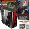 CPU GAMER AMD RYZEN 3 4350G VIDEO VEGA 8GB DDR4 MEMORIA 1TB