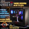 PC THREADRIPPER 3960X 24/48 NÚCLEOS RX 6900XT 16GB GDDR6 64GB DDR4 SSD 4TB