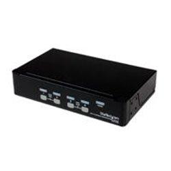 CONMUTADOR SWITCH KVM 4 PUERTOS DE VIDEO VGA USB 2.0 - 1U RACK ESTANTE - STARTECH.COM MOD. SV431DUSBU