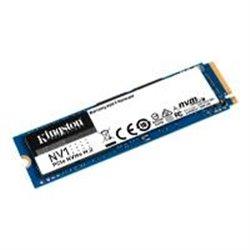 UNIDAD DE ESTADO SOLIDO SSD KINGSTON SNVS NV1 500GB M.2 NVME PCIE LECT. 2100 /ESCR. 1700 MB/S