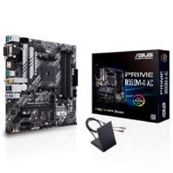 MB ASUS B550 AMD S-AM4 3A GEN/4X DDR4 2666/HDMI/DVI/D-SUB/M.2/6X USB 3.2/WIFI/BLUETOOTH/MICRO ATX/GAMA MEDIA/RGB