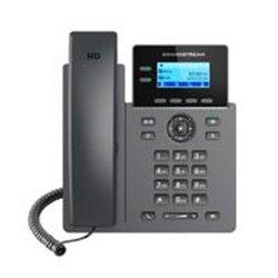 TELFONO IP CON 2 PUERTOS FASTETHERNET, PANTALLA LCD RETROILUMINADA, DESTION Y APROVISIONAMIENTO DESDE LA NUBE CON GDMS, SOPORTE