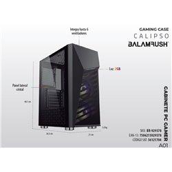 GABINETE BALAM RUSH BR-929578 CALIPSO SPECTRUM ATX M-ATX M-ITX RGB USB3.0