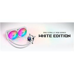 ENFRIAMIENTO LIQUIDO ASUS ROG STRIX LC 240 RGB WHITE EDITION AURA SYNC RGB