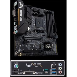 MB ASUS TUF GAMING B450M-PLUS II AM4 4*DDR4 3200 VGA HDMI MICROATX