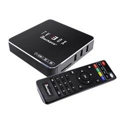 TV BOX BLACKPCS 4K 3D WIFI RED CONTROL NEGRO (EO104K-BL)