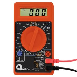 "MULTIMETRO DIGITAL QIAN QAD-690010 LCD 3 1/2 DIGITOS(CUENTA 1999) 0.5"""