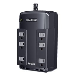 UPS/NO BREAK CYBERPOWER CP350SLG 350VA/255W STANDBY 8NEMA/USB