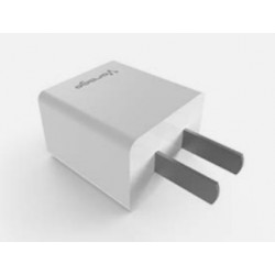 CARGADOR PARA PARED VORAGO 1 PUERTO USB BLANCO BLISTER AU-105-WH