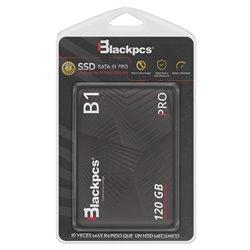 "UNIDAD SSD BLACKPCS B1 120GB 560MB/S SATA III 2.5"" (AS201-120)"