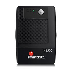 SMARTBITT SBNB500 NOBREAK/UPS 500VA/250 WATTS, 4 CONTACTOS