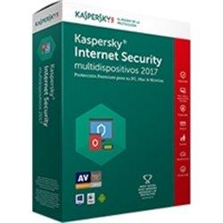 KASPERSKY INTERNET SECURITY - MULTIDISPOSITIVOS 2017 / 1 + 1 USER / 1 AÑO / CAJA