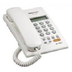 TELEFONO PANASONIC KX-T7705 ANALOGO CON IDENTIFICADOR DE LLAMADAS Y ALTAVOZ (BLANCO)