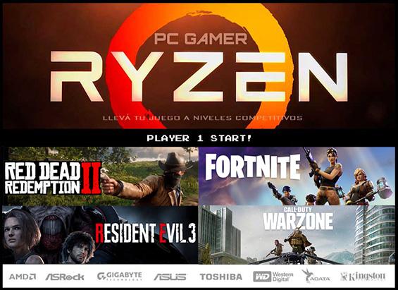 Ventas de computadoras Gamer amd ryzen armadas gama alta juegos a full