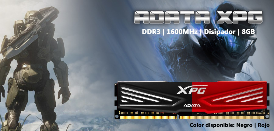 memoria ram gamer adta xpg disipador de temperatura