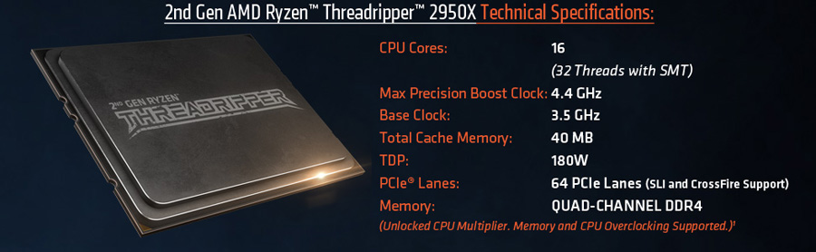 ULTRA PC GAMA ALTA SUPER RENDIMIENTO RYZEN THREADRIPPER 2950X 32 NÚCLEOS LOGICOS COMPRAR MEXICO