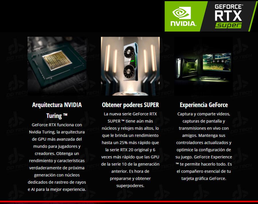 nuevas mejoras y mas rendimiento en las computadoras gamer con nvidia rtx super en oferta