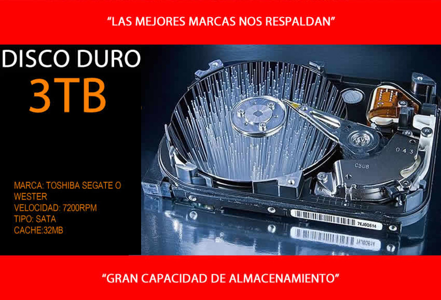 pc arquitectura, animacion 3d intel core i9 con disco duro 3tb en mexico