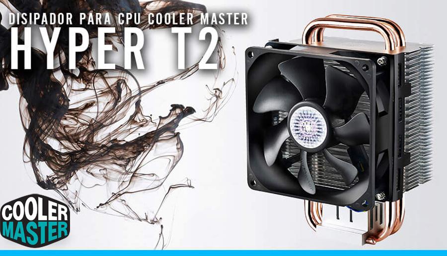computadoras con disipador cooler master hyper t2 enfriamiento por aire alto rendimiento y bajas temperaturas