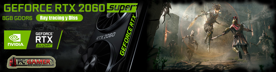 nuevas pc gamer con video nvidia rtx 2060 super 8gb gddr6 en mexico