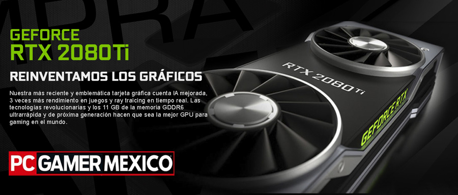 super pc gamer master race con rtx-2080ti 11gb ddr6 la mas potente en mexico