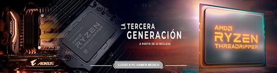 COMPUTADORAS AMD RYZEN THREADRIPPER TERCERA GENERACION EN MEXICO