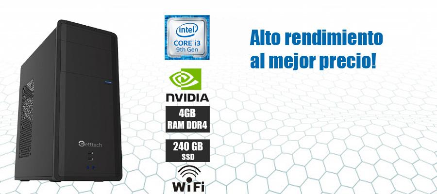 Nueva computadora intel core i3 novena generacion video nvidia 8gb ddr4 1tb ssd oferta en mexico
