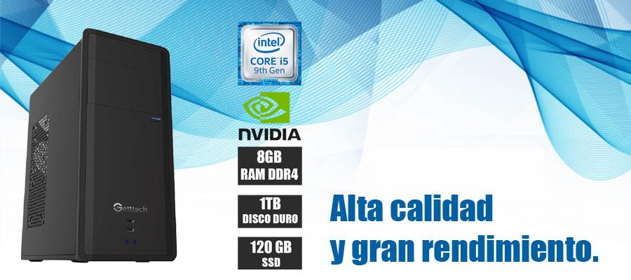 Nueva computadoras de escritorio con intel core i5 novena generacion 6 nucleos y video nvidia 2gb en oferta para casa y oficina
