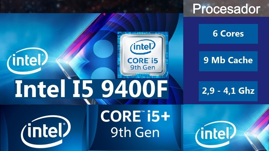 nueva pc gamer core i5-9400f mas fps al mejor precio