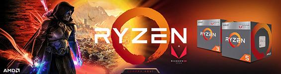 Nuevas computadoras gamer 2019 a bajo costo en mexico amd Ryzen con video radeon rx vega