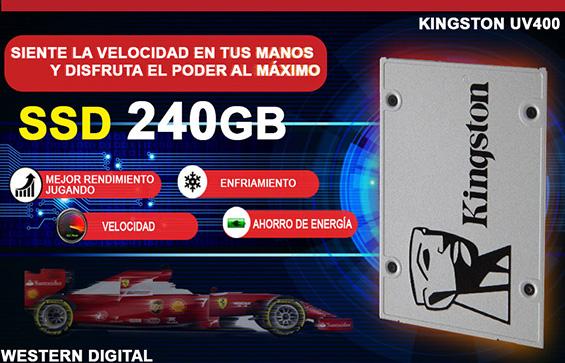 ultra pc super rapida con ssd 240gb en Mexico