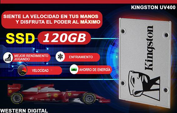 computadora armada con disco de estado solido ssd super rapido en Mexico