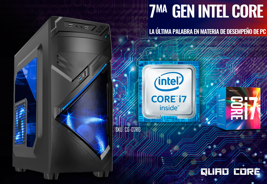 cpu gamer intel core i7 ultima generacion en mexico