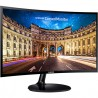MONITOR LED SAMSUNG 27, WIDESCREEN, FULL HD 1920X1080, LC27F390FHLSZD, NEGRO, D-SUB, HDMI, CURVO